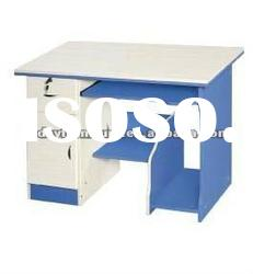 Modern design wooden computer desk with storage CD724