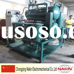 NK series double horizontal chambers vacuum insulating oil purifier