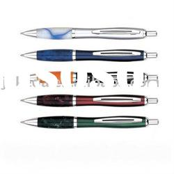 New Acrylic Metal Click Action Ball Point Pen For Promotional Gift