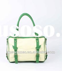 New Design- Fashion Lady handbags-with green belt buckle
