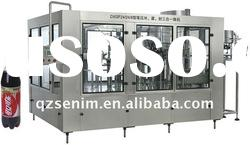 New production line automatic soda filling machine washing filling and sealing