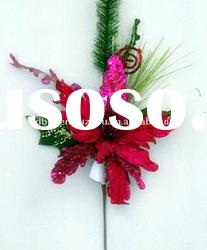 New style Christmas Artificial Flowers Decoration on tree