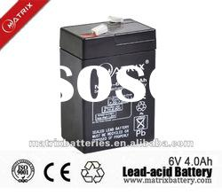 Newest 6v 4ah rechargeable lead acid battery