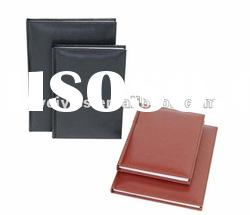 Newest style notebook with leather/pvc/pu cover