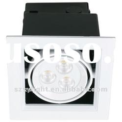 Newstyle! CREE 15w led downlight square 130x130mm