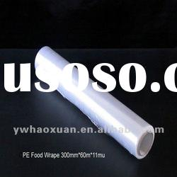 PE cling film for food packing