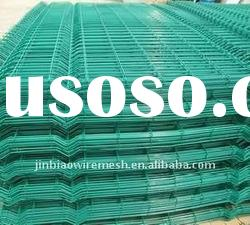 PVC coated wire fence panels