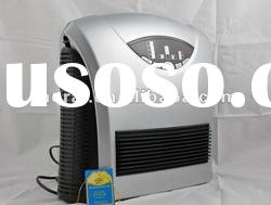Portable HEPA filter air purifier with ionizer