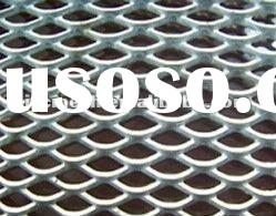 Powder Coated Aluminum Hexagonal Patten Expanded Metal Mesh For Decoration