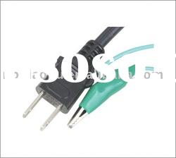 Power cord for japan/Japanese power plug/Japan power plug
