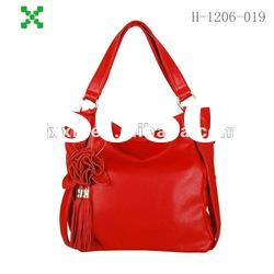 Red leather handbags,bags for woman,big bags handbag,PU bags fashion-1206019