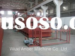 Roll mesh epoxy powder coating equipment