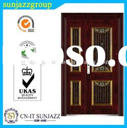 SJ-MH-B39 Steel Entry Double Door
