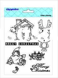 Scrapbooking Acid-Free Exchangeable Craft Clear Silicon Stamp