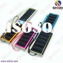 Solar Mobile Phone Charger with USB Cable, Convenient for Outdoor Exercises and Adventures