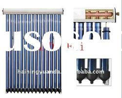 Split pressurized solar water heater collectors for system