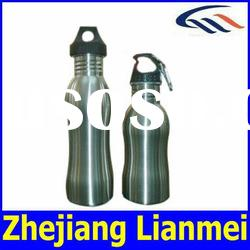 Stainless Steel Gourd Single Wall Wide Mouth Water Bottle 500ml 800ml