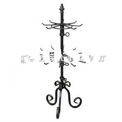 Table Top Rotating Metal Tree Jewelry Display Stand