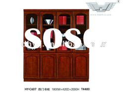 Top quality!Wooden office furniture antique file cabinet,MDF, 8 doors filling cabinet/bookcase