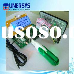 Tunersys (TM3503) fm usb audio solutions mp3 board lcd display