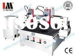Two Heads CNC engraving machine YMM1325/cnc wood carving machine