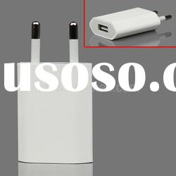 USB Power Adapter A1300 for iPhone and iPod Series Euro Plug (High Quality)