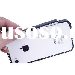 Ultra-thin aluminum bumper cases for iphone 4/4s