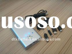 Universal portable battery charger for mobile phone with USB