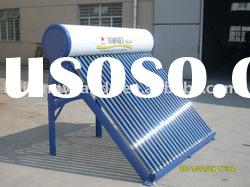 Vacuum tube non-pressurized solar water heater system