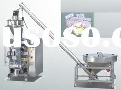 Vertical form-fill-seal machine for powder