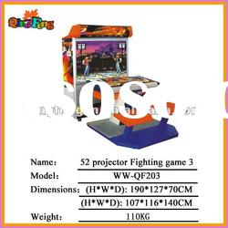 Video game machine Video game machine WW-203 52 projector Fighting game (3 version)