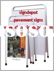 WELDON A board stand,pavement display board, double sides a board stand