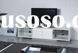 White High Gloss TV Stand S666#