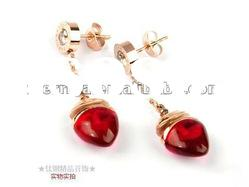 Wholesale fashion jewelry 2012 new style crystal earrings
