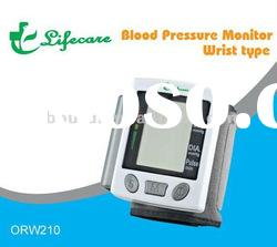 Wrist type Blood pressure monitor CE