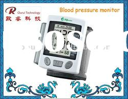 Wrist type digital blood pressure monitor