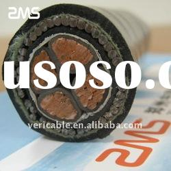 XLPE insulation steel wire armoured power cable with copper conductor