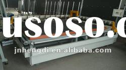 YR Semi-Auto glass Cutting Production Line with glass lifting equipment