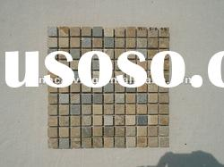Yellow Slate Wall Mosaic Tiles