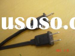 `American ul two pin power cord with fuse