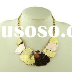 (JAN. New Arrival) Fashion Chunky Necklace Jewellery 2012, Colorful Metal Necklace