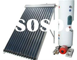 (Solar Keymark,SRCC,CE)split high pressured solar water heater system