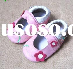 baby sandals soft sole leather infant shoe