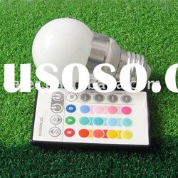 beautiful energy saving led rgb remote control light