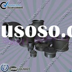 black beaded malleable iron pipe fittings