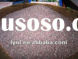 brown crystalline aluminum oxide