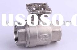 carbon steel 2 pc full port ball valve