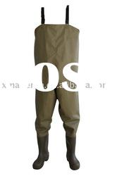 chest waders, 190T nylon waders, finishing waders