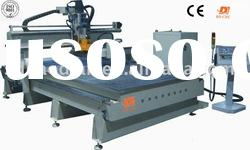 cnc router with vacuum ATC and multi drills saw
