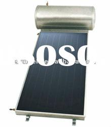 compact pressurized flat solar water heater